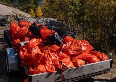 2020 Fall Cleanup garbage bags