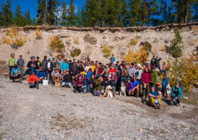 2020 Fall Clean up group photo
